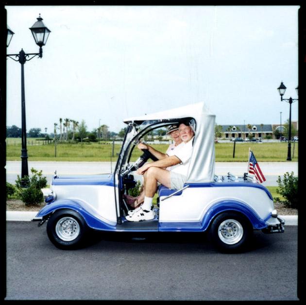 Also A Golf Cart.