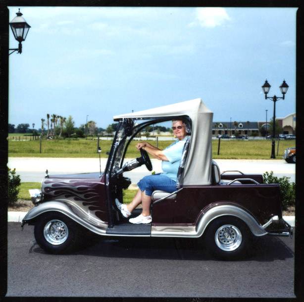That's A Golf Cart, Too.
